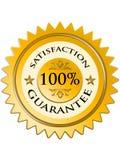 Etiqueta da garantia da satisfação