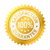 Etiqueta da garantia do vetor Foto de Stock Royalty Free