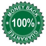 Etiqueta da parte traseira do dinheiro Foto de Stock Royalty Free
