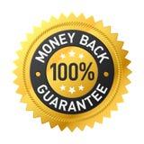 Etiqueta da parte traseira do dinheiro do vetor Imagens de Stock
