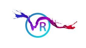 Etiqueta da realidade virtual ilustração do vetor