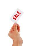 Etiqueta da venda imagem de stock royalty free