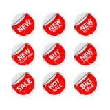 Etiqueta da venda da etiqueta ilustração royalty free