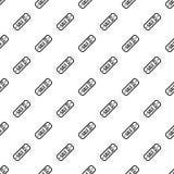 Etiqueta da venda 30 por cento fora do teste padrão, estilo simples Imagens de Stock Royalty Free