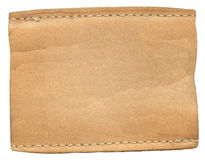 Etiqueta das calças de brim Imagens de Stock Royalty Free