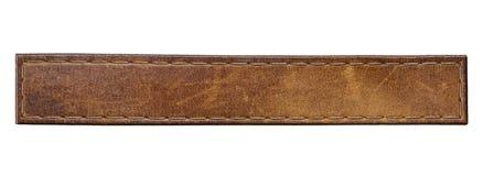 Etiqueta das calças de brim Imagem de Stock