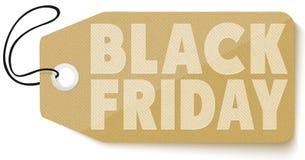 Etiqueta das vendas de Black Friday Imagem de Stock Royalty Free