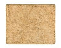 Etiqueta de couro vazia das calças de brim foto de stock royalty free
