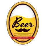 Etiqueta de la cerveza ilustración del vector