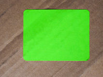 Etiqueta de la etiqueta Imágenes de archivo libres de regalías