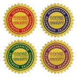 Etiqueta de la garantía Imágenes de archivo libres de regalías