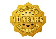 Etiqueta de la garantía del oro foto de archivo libre de regalías