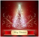 Etiqueta de la Navidad Foto de archivo libre de regalías