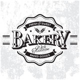 Etiqueta de la panadería Stock de ilustración