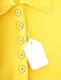 Etiqueta de la ropa Fotos de archivo libres de regalías
