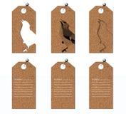 Etiqueta de la ropa Imágenes de archivo libres de regalías