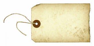 Etiqueta de la vendimia Imagen de archivo