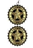 Etiqueta de oro de lujo y etiqueta del bestseller mundial  Fotografía de archivo
