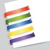 Etiqueta de papel Fotografía de archivo libre de regalías