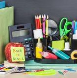 Etiqueta de papel com texto de volta à escola Imagem de Stock Royalty Free