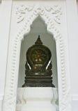 Etiqueta de plástico de límite de un templo Imagen de archivo libre de regalías