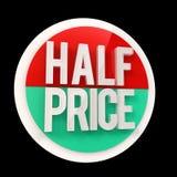 Etiqueta de preço com desconto Imagens de Stock Royalty Free
