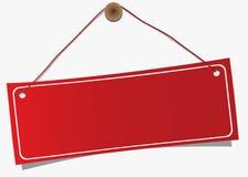Etiqueta de suspensão Fotografia de Stock