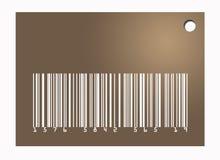 Etiqueta del código de barras Foto de archivo libre de regalías