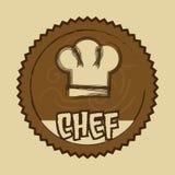 Etiqueta del cocinero libre illustration