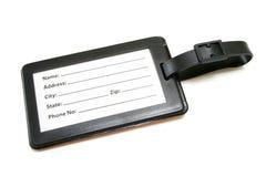 Etiqueta del equipaje imagen de archivo libre de regalías