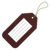 Etiqueta del equipaje Imágenes de archivo libres de regalías