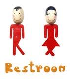 Etiqueta del lavabo imagen de archivo libre de regalías