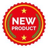 Etiqueta del nuevo producto Imagenes de archivo
