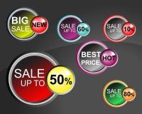 Etiqueta del precio de venta Imágenes de archivo libres de regalías