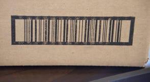Etiqueta del producto del código de barras fotografía de archivo libre de regalías