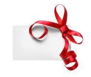 Etiqueta del regalo foto de archivo