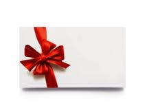 Etiqueta del regalo Fotografía de archivo