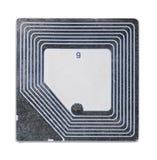 Etiqueta del RFID Imagen de archivo