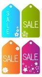 Etiqueta del vector de la venta Fotografía de archivo libre de regalías