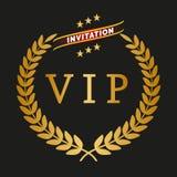 Etiqueta del VIP Fotografía de archivo