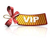 Etiqueta del Vip Fotos de archivo libres de regalías
