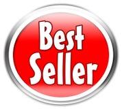 Etiqueta do bestseller Imagem de Stock Royalty Free