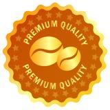 Etiqueta do café Imagens de Stock Royalty Free