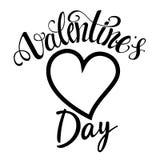 Etiqueta do dia de Valentim Fotos de Stock Royalty Free