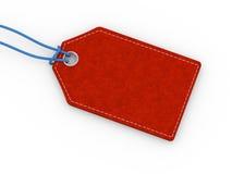 etiqueta do Empty tag da placa 3d Imagem de Stock