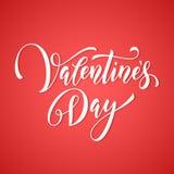 Etiqueta do monograma de Valentine Day para o cartão cor-de-rosa do amor do coração ilustração stock
