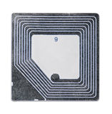 Etiqueta do RFID Imagem de Stock