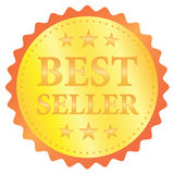 Etiqueta do vetor do melhor vendedor Foto de Stock