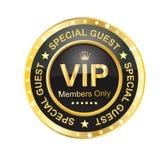 Etiqueta do VIP ilustração stock