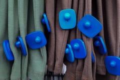 Etiqueta dura del RFID para la ropa fotos de archivo libres de regalías